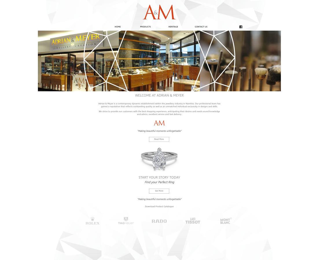 Adrian & Meyer Website